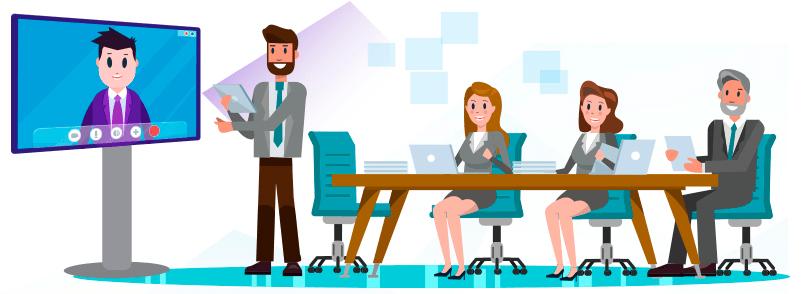Få Microsoft Teams med ind i mødelokalet